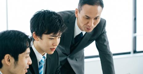 営業職、事務職の教育体制・研修制度